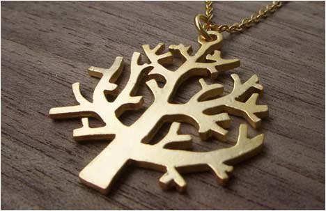 Long Tree Necklace