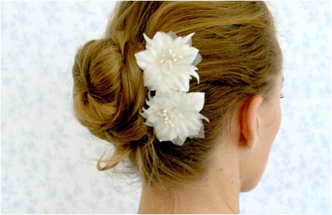 3 flowers | Hair pins set