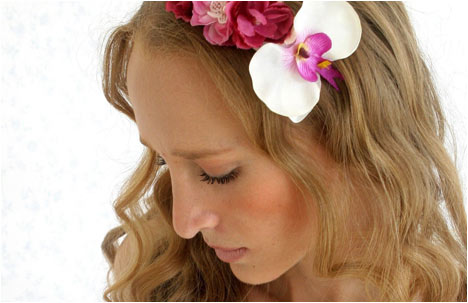 Orchid Spring touch | headband