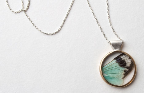 Attachment of Fear Collection | Cicada Wing Pendant