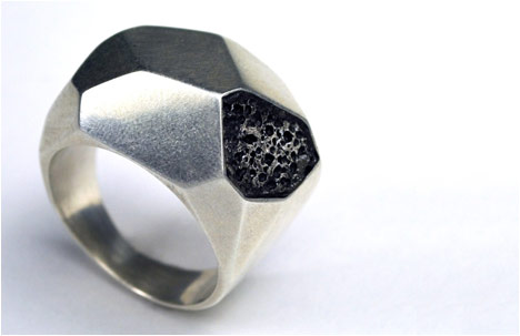 Twentyten Collection | Silver Geometric Ring