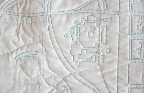 Readymade Soft Map | Central Park detail | Wollman Rink and Children's Zoo