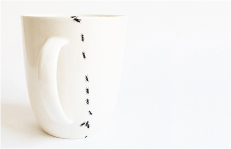 Ants On My Mug And Plate
