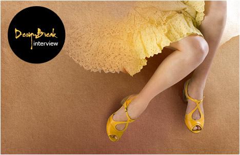 Nura | A sassy 70's pip-toe sandal