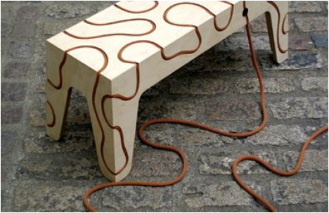 Yoav Reches | Rope Bench