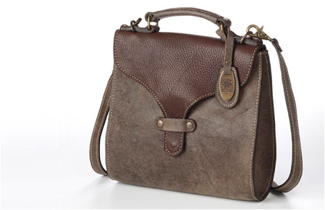 Baki Bag | Stoned Brown.Dark Brown