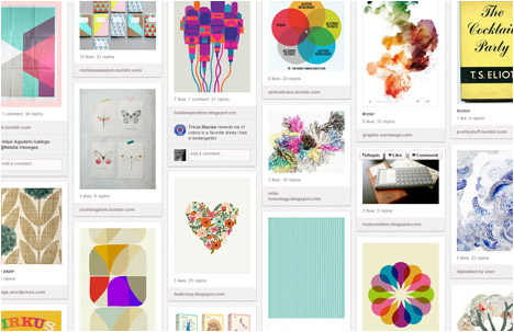 Jessica Colaluca | Design Seeds Blog | Color and Graphics Board