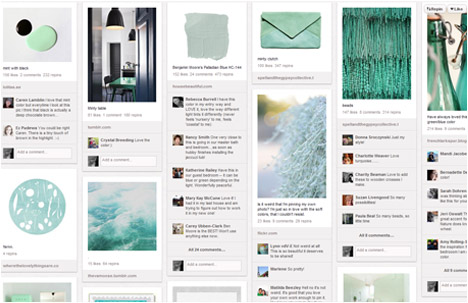 Ez Pudewa |Creature Comforts Blog | Color Crush - From Mint to Teal Board