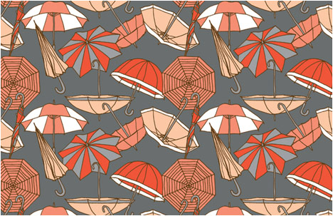 Pattern | Umbrellas