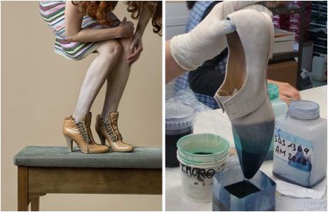 Shoe Designer, Anita Moser.